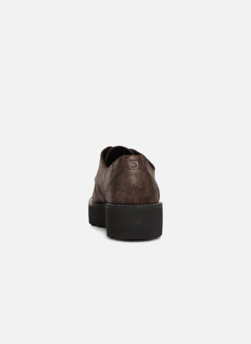 Chaussures à lacets Tamaris 23734 Marron vue droite