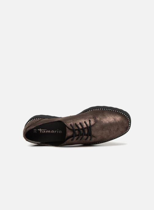 Chaussures à lacets Tamaris 23734 Marron vue gauche