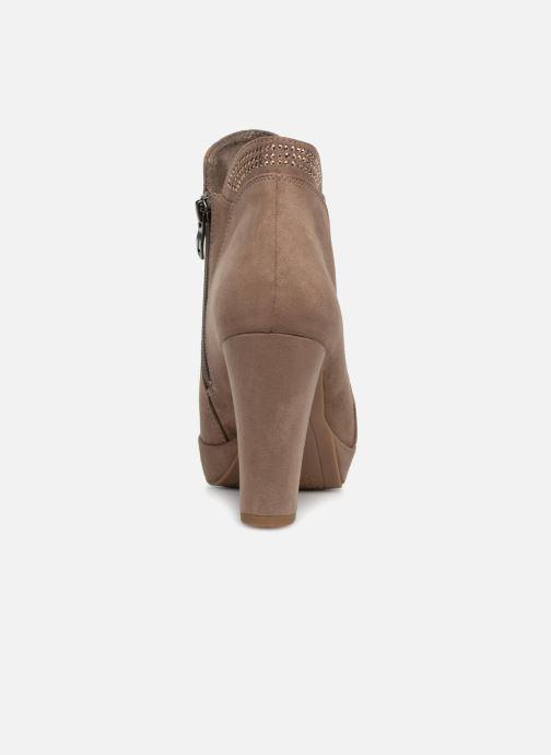 Bottines et boots Tamaris 25323 Beige vue droite