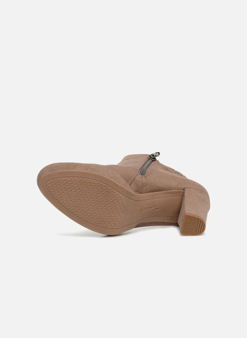 Bottines et boots Tamaris 25323 Beige vue haut