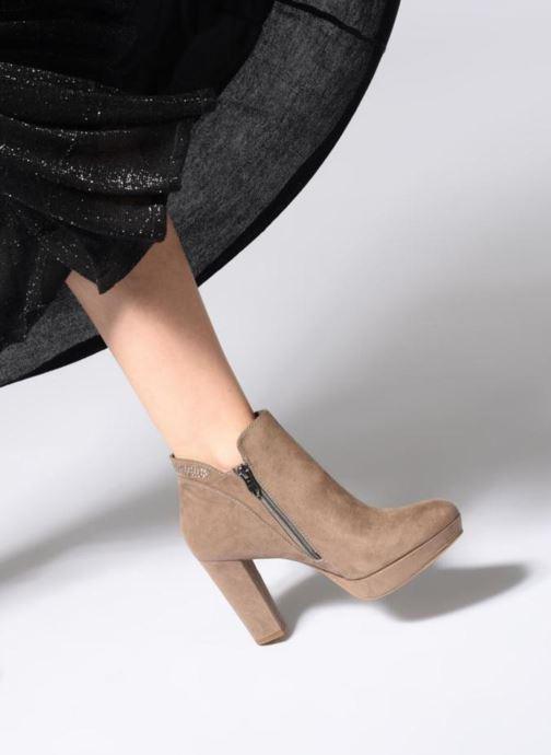 Bottines et boots Tamaris 25323 Bleu vue bas / vue portée sac