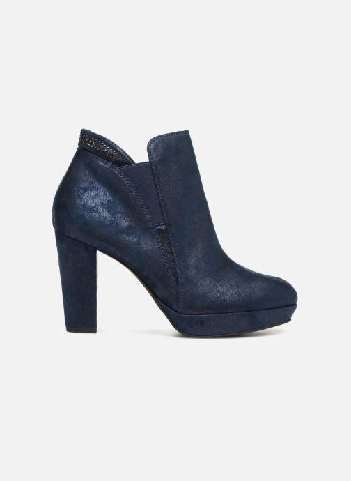 tamaris bottines bleu métallic