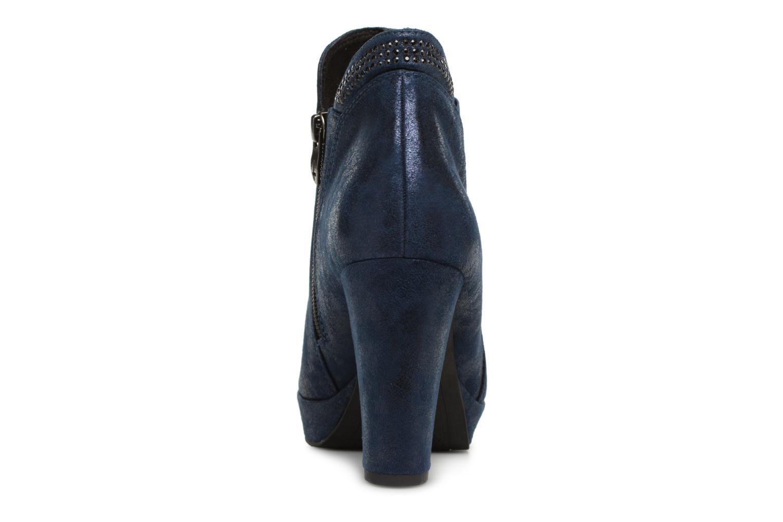Bottines et boots Tamaris 25323 Bleu vue droite