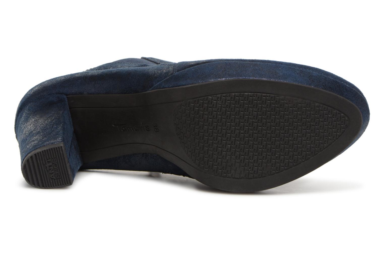 Bottines et boots Tamaris 25323 Bleu vue haut