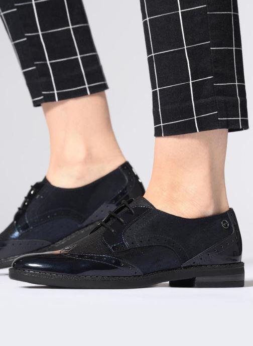 Chaussures à lacets Tamaris 23313 Noir vue bas / vue portée sac