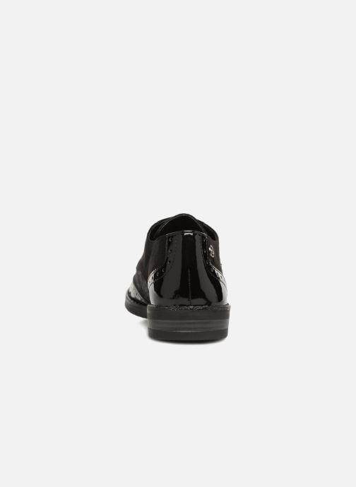 Chaussures à lacets Tamaris 23313 Noir vue droite