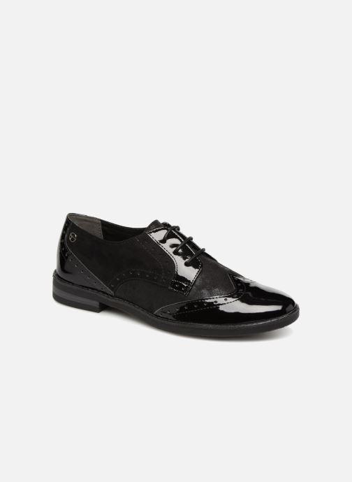 Chaussures à lacets Tamaris 23313 Noir vue détail/paire