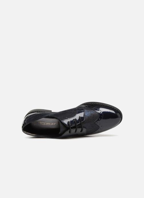 Chaussures à lacets Tamaris 23313 Bleu vue gauche