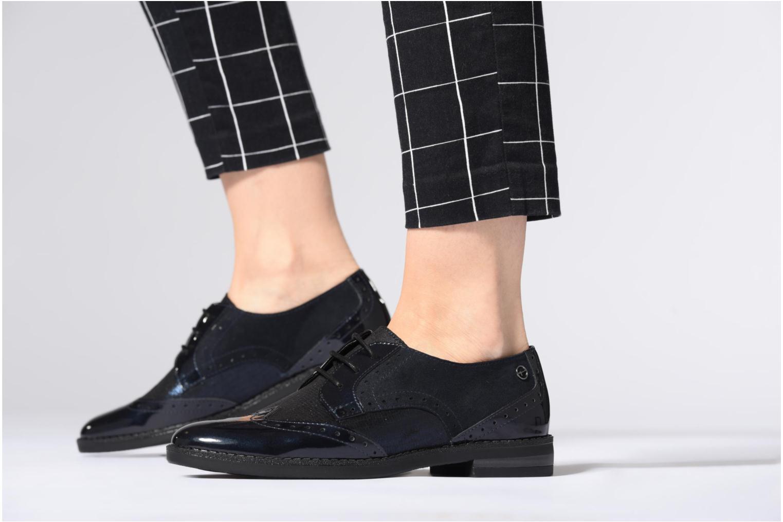 Chaussures à lacets Tamaris 23313 Bleu vue bas / vue portée sac