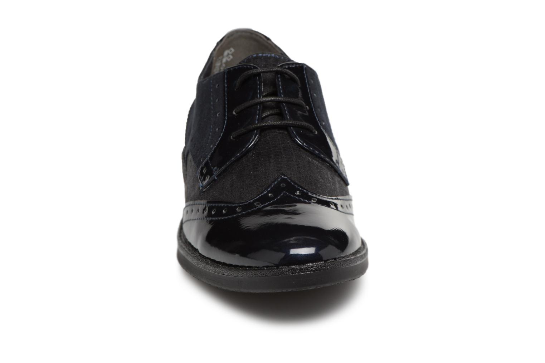 Scarpe con lacci Tamaris 23313 Azzurro modello indossato
