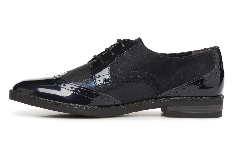 Chaussures à lacets Tamaris 23313 Bleu vue face