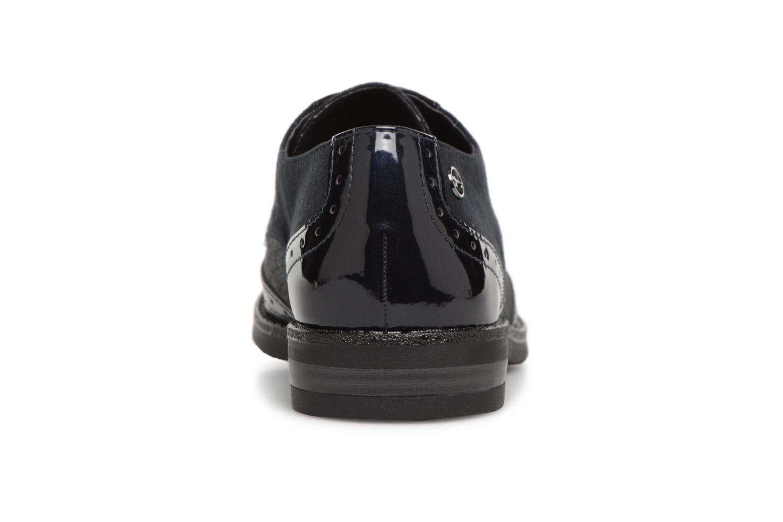 Chaussures à lacets Tamaris 23313 Bleu vue droite