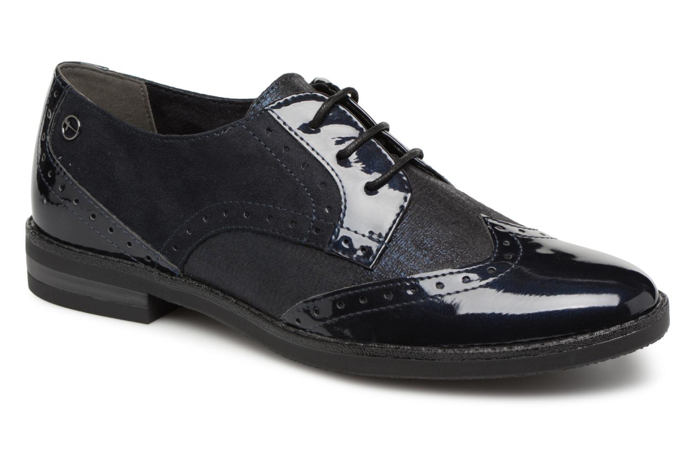 Chaussures à lacets Tamaris 23313 Bleu vue détail/paire