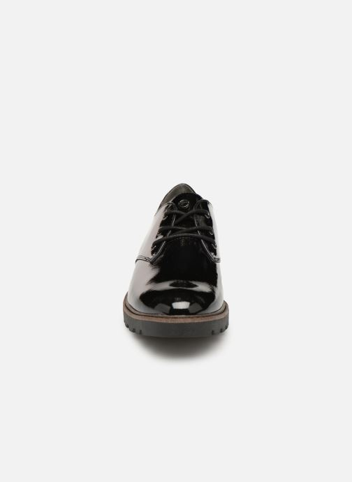 Schnürschuhe Tamaris 23742 schwarz schuhe getragen