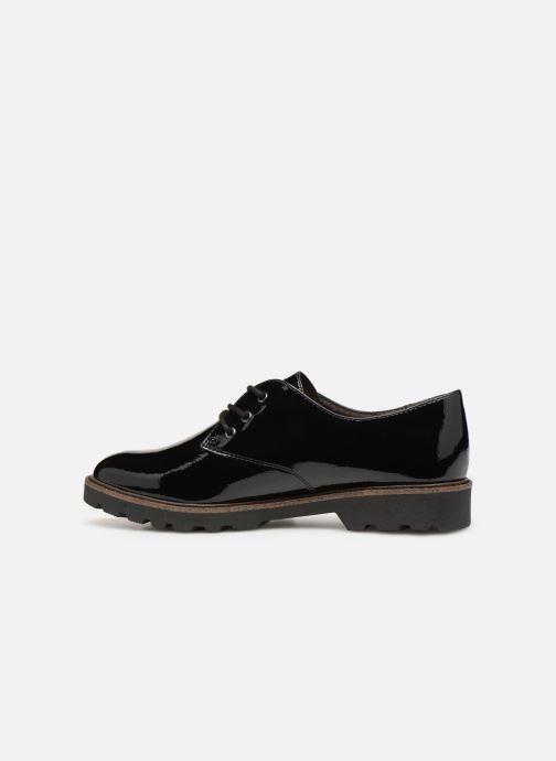 Lace-up shoes Tamaris 23742 Black front view