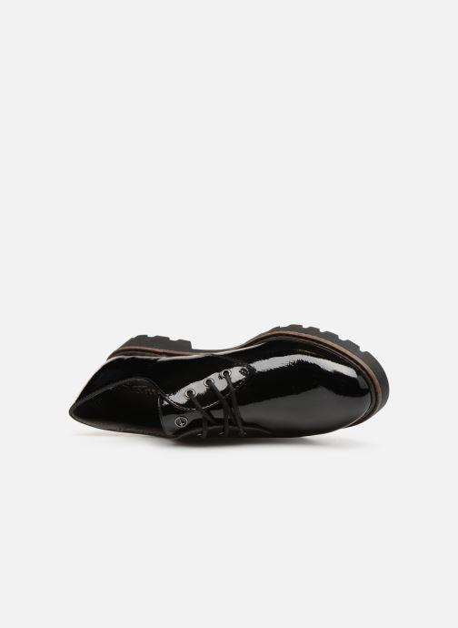 Chaussures à lacets Tamaris 23742 Noir vue gauche