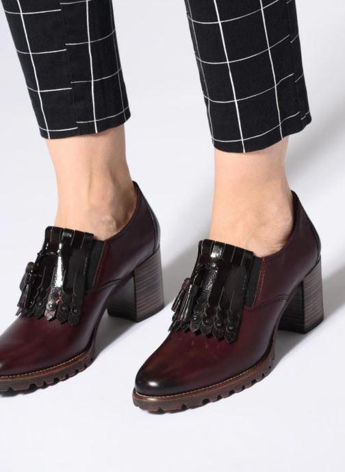 Bottines et boots Tamaris 24410 Bordeaux vue bas / vue portée sac