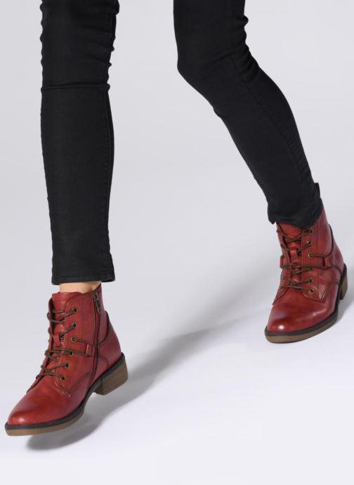 Bottines et boots Tamaris 25116 Rouge vue bas / vue portée sac