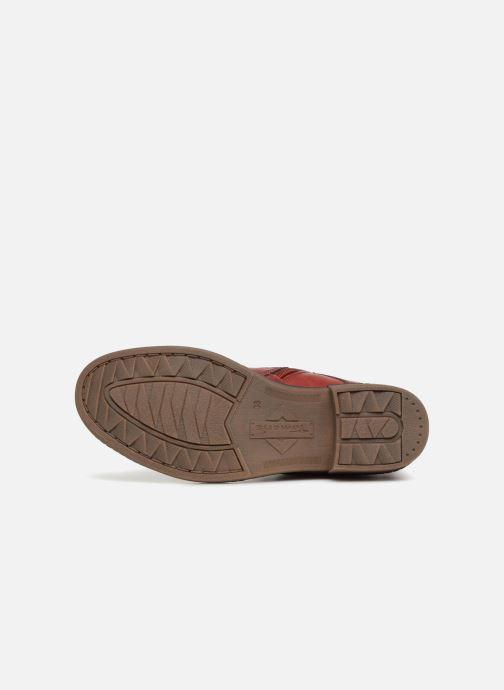 Bottines et boots Tamaris 25116 Rouge vue haut