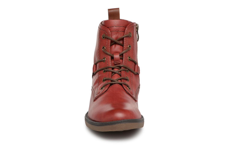 Bottines et boots Tamaris 25116 Rouge vue portées chaussures