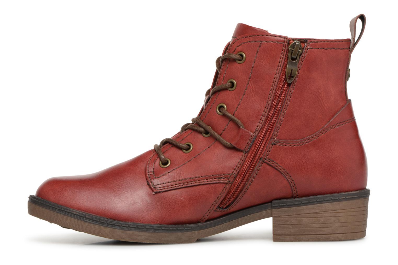 Bottines et boots Tamaris 25116 Rouge vue face