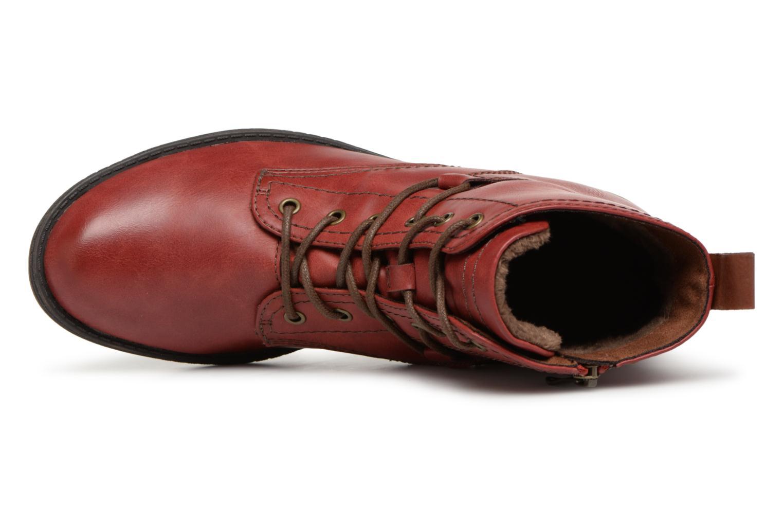 Bottines et boots Tamaris 25116 Rouge vue gauche