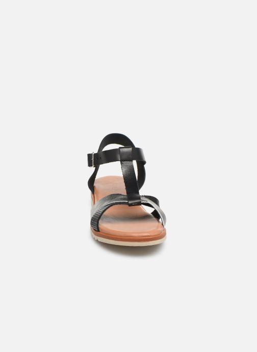Sandales et nu-pieds Georgia Rose Diandra Soft Noir vue portées chaussures