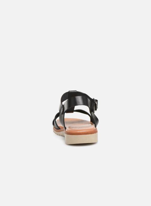 Sandales et nu-pieds Georgia Rose Diandra Soft Noir vue droite