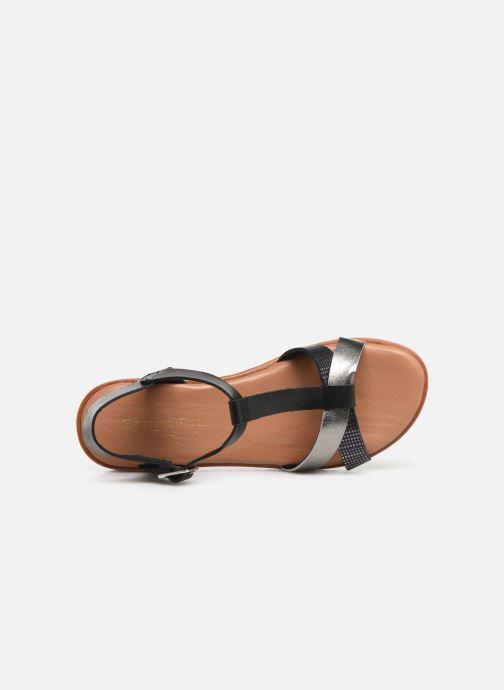 Sandales et nu-pieds Georgia Rose Diandra Soft Noir vue gauche