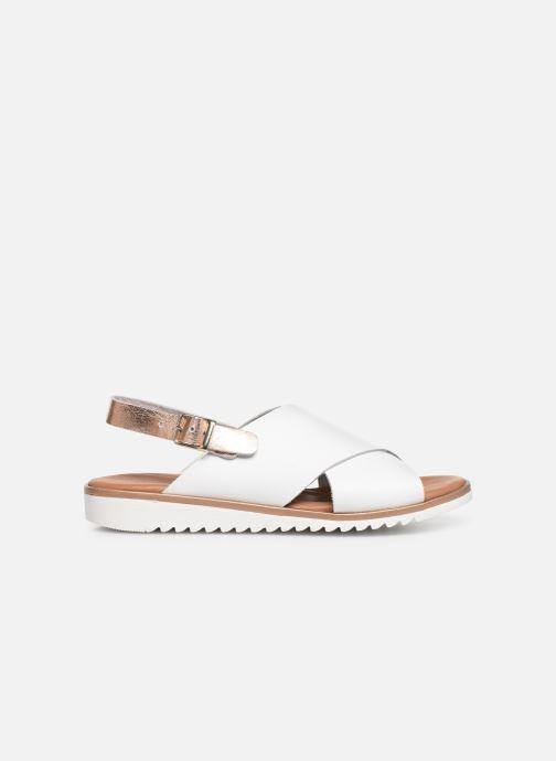 Sandales et nu-pieds Georgia Rose Diacroisa Soft Blanc vue derrière