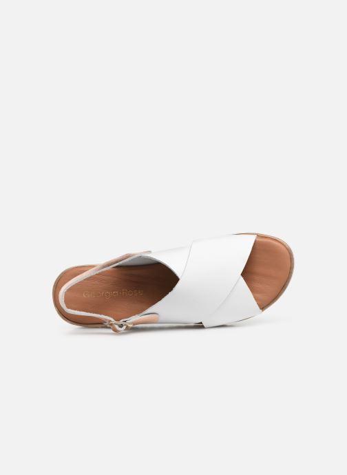 Sandales et nu-pieds Georgia Rose Diacroisa Soft Blanc vue gauche