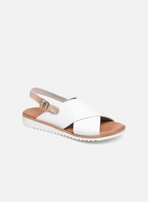 Sandales et nu-pieds Georgia Rose Diacroisa Soft Blanc vue détail/paire