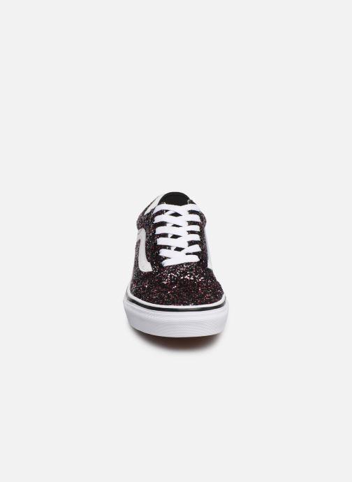Baskets Vans Old Skool K Noir vue portées chaussures