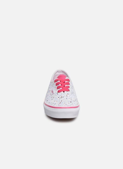 Baskets Vans Authentic K Blanc vue portées chaussures