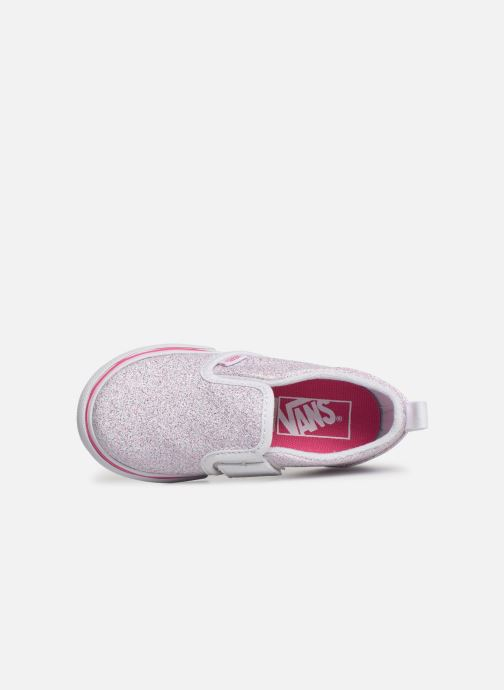 Baskets Vans Slip-On V Blanc vue gauche