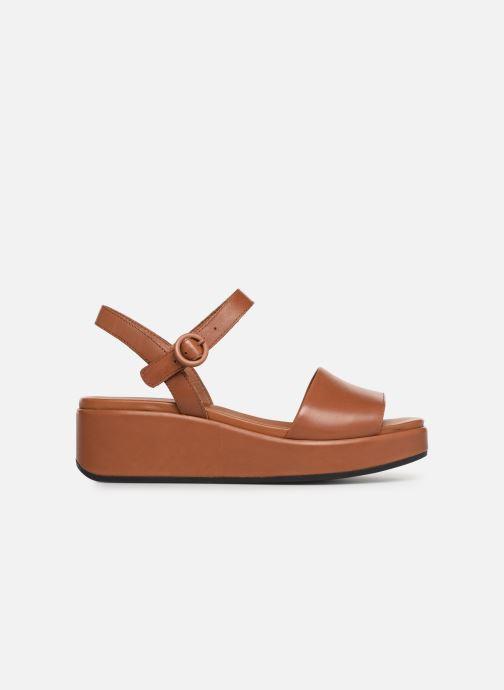 Sandales et nu-pieds Camper Misia 10 Marron vue derrière