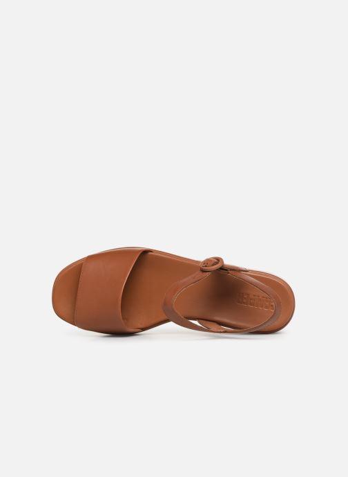 Sandales et nu-pieds Camper Misia 10 Marron vue gauche