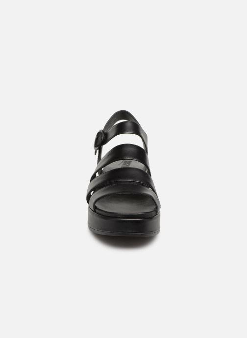 Sandales et nu-pieds Camper Misia K200864 Noir vue portées chaussures