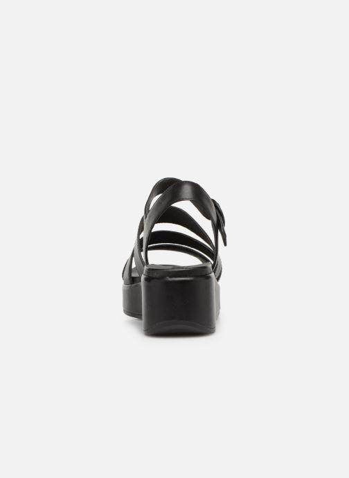 Sandales et nu-pieds Camper Misia K200864 Noir vue droite