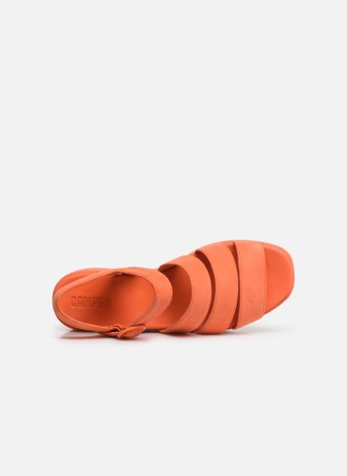 Sandalen Camper Misia K200796 orange ansicht von links