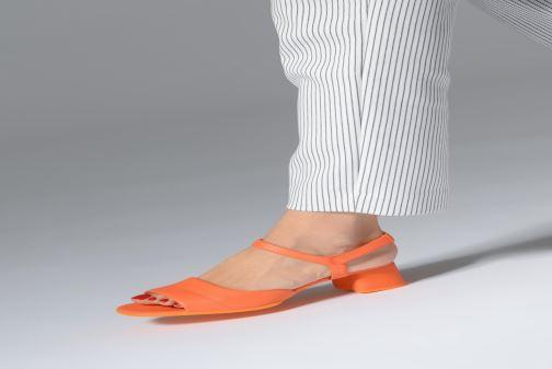 Nu Camper Sandales Et Orange Sandal K200834 Medium Katie pieds vmN8wnO0
