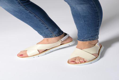 Sandales et nu-pieds Camper Oruga Sandal K200157 Noir vue bas / vue portée sac