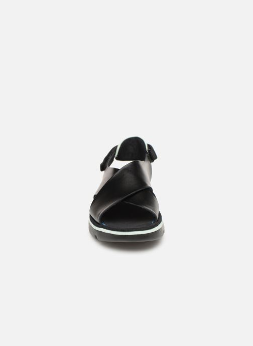 Sandales et nu-pieds Camper Oruga Sandal K200157 Noir vue portées chaussures