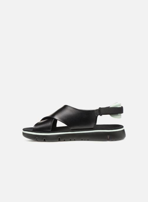 Sandales et nu-pieds Camper Oruga Sandal K200157 Noir vue face