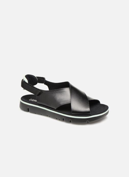 Sandales et nu-pieds Camper Oruga Sandal K200157 Noir vue détail/paire