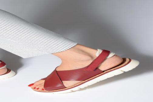 Sandales et nu-pieds Camper Oruga Sandal K200157-017 Rouge vue bas / vue portée sac