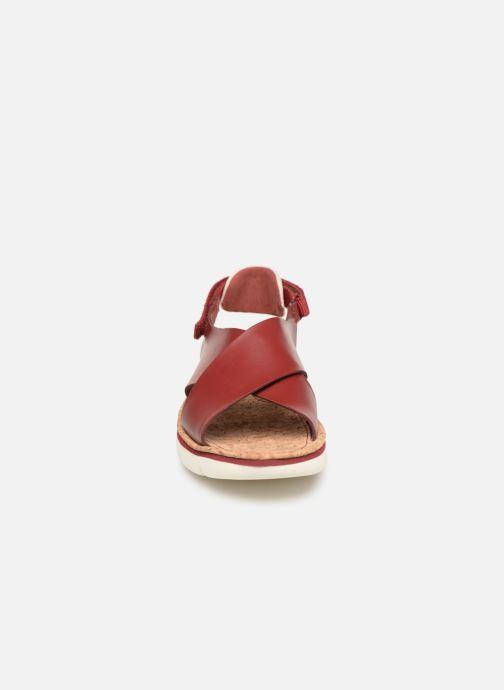 Sandales et nu-pieds Camper Oruga Sandal K200157-017 Rouge vue portées chaussures