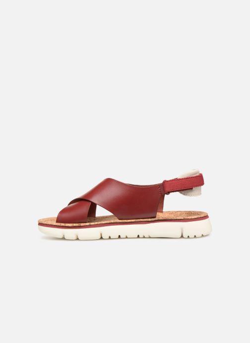 Sandales et nu-pieds Camper Oruga Sandal K200157-017 Rouge vue face