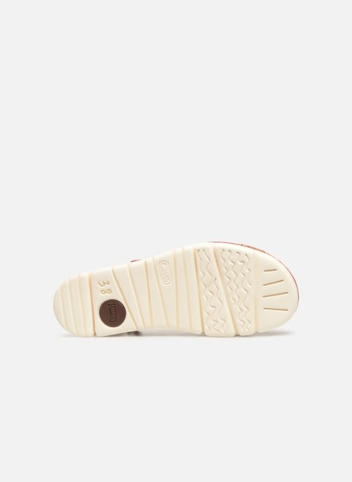 Sandales et nu-pieds Camper Oruga Sandal K200157-017 Rouge vue haut