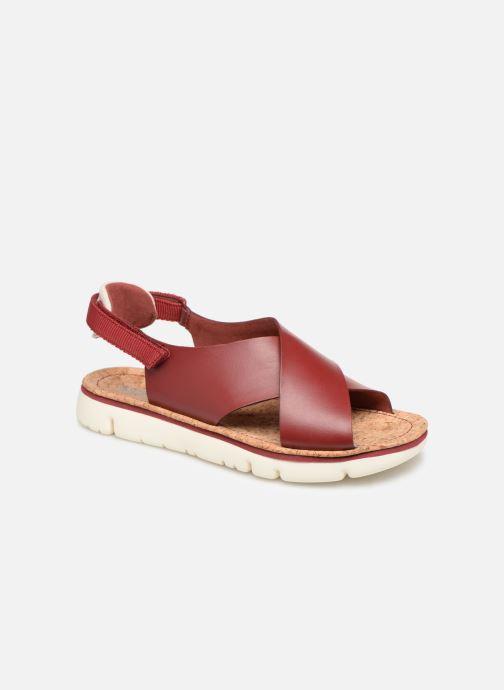 Sandales et nu-pieds Camper Oruga Sandal K200157-017 Rouge vue détail/paire